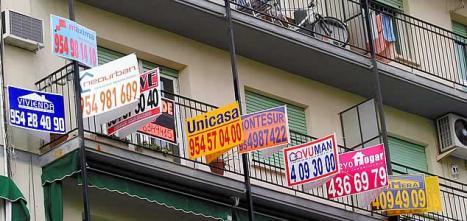 ¿Qué opináis vosotros cuando veis balcones llenos de carteles?