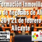 Próxima formación Inmovilla: Alicante, 20 y 21 de febrero